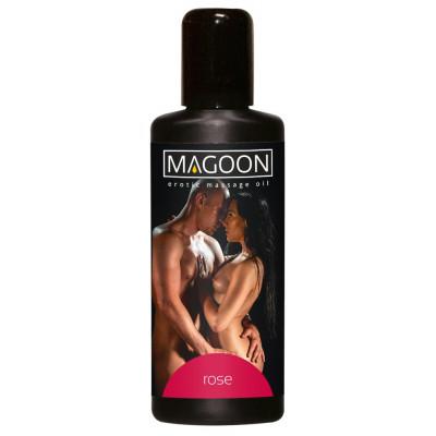 """OLIO PER MASSAGGI EROTICI - ROSE EROTIC - """"MAGOON"""" SOLUBILE IN ACQUA - 100 ml"""