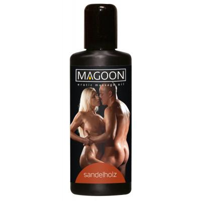 """OLIO PER MASSAGGI EROTICI - SANDALWOOD - """"MAGOON"""" SOLUBILE IN ACQUA - 100 ml"""