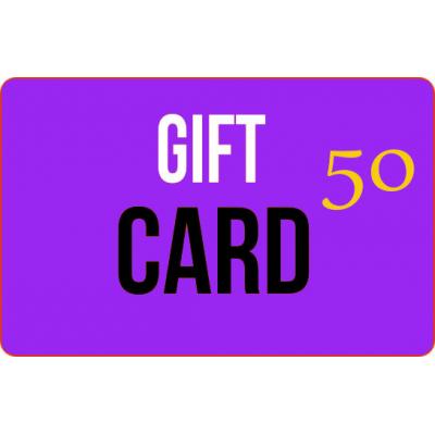 Gift card 50