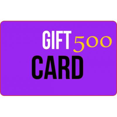 Gift card 500