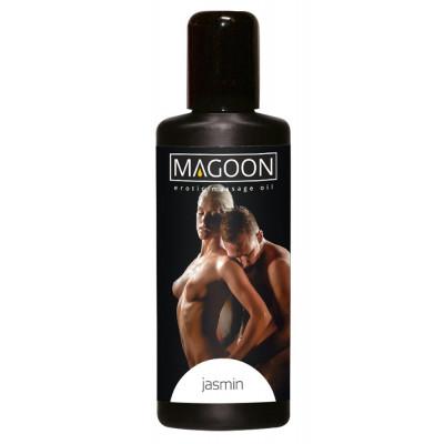 """OLIO PER MASSAGGI EROTICI - JASMINE - """"MAGOON"""" SOLUBILE IN ACQUA - 50 ml"""