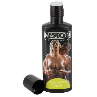 "OLIO PER MASSAGGI EROTICI - SPANISH FLY - ""MAGOON"" SOLUBILE IN ACQUA - 100 ml"