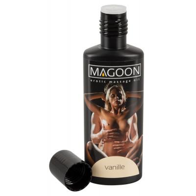 "OLIO PER MASSAGGI EROTICI - VANILLE - ""MAGOON"" SOLUBILE IN ACQUA - 100 ml"