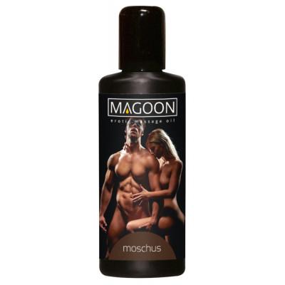 "OLIO PER MASSAGGI EROTICI - MUSK - ""MAGOON"" SOLUBILE IN ACQUA - 100 ml"