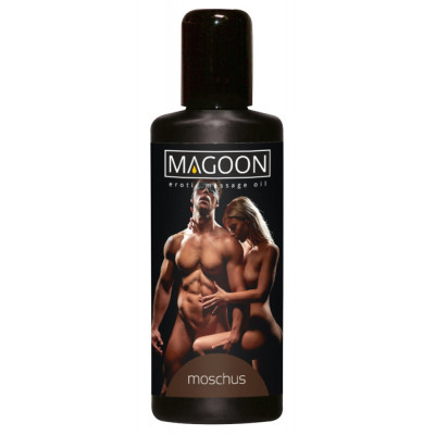 "OLIO PER MASSAGGI EROTICI - MUSK - ""MAGOON"" SOLUBILE IN ACQUA - 50 ml"