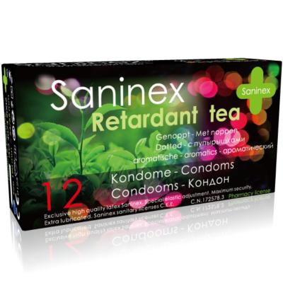 "PROFILATTICI SANINEX ""RETARDANT TEA"" DOTTED 12 PEZZI"